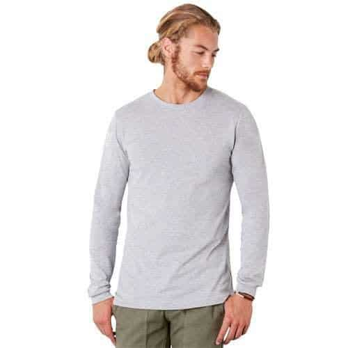 bella canvas long sleeve t shirt