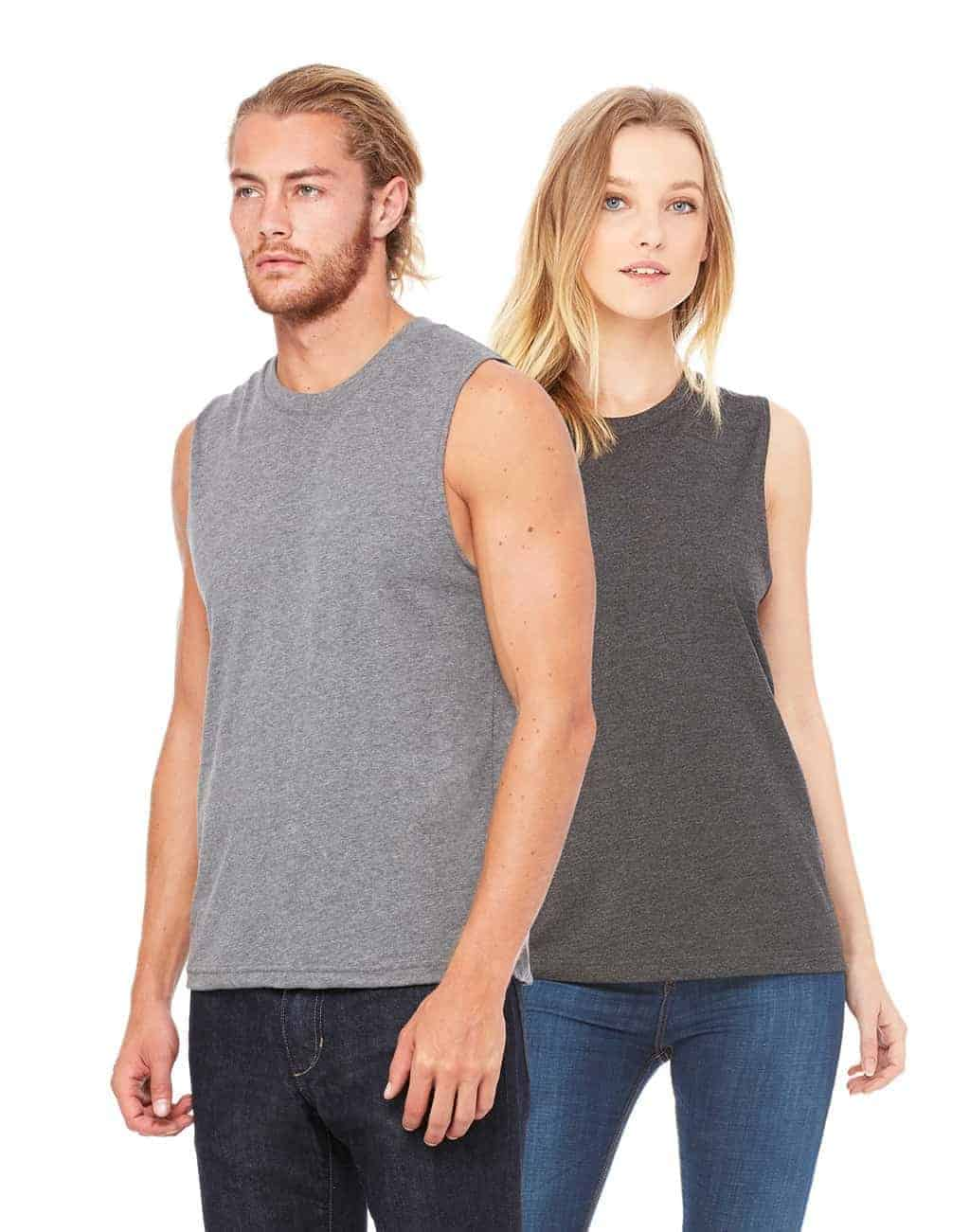Design your own t-shirt bella - Custom Muscle Tank Tops Unisex Bella Canvas