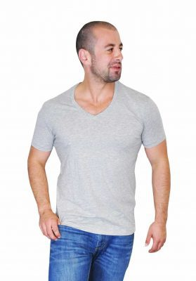 mens pima cotton v-neck t-shirts