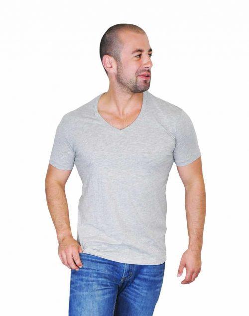 mens pima cotton v-neck t-shirts