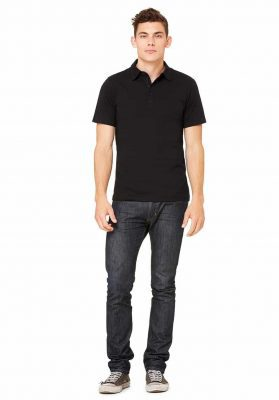 bella canvas men polo shirt