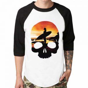 baseball shirt printed with direct to garment