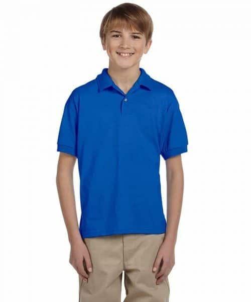 gildan youth polo shirts