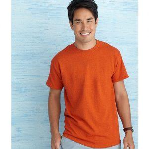 custom poly cotton gildan t shirt