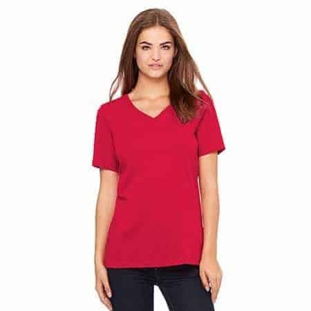 bella canvas 6405 relaxed v neck