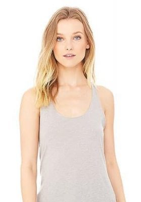 bella canvas triblend racerback tank