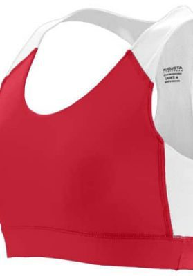 custom red bras