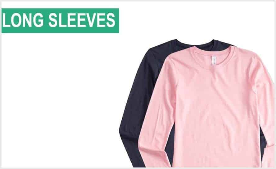 t shirts long sleeves