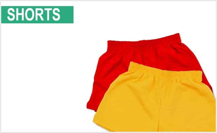 custom running shorts