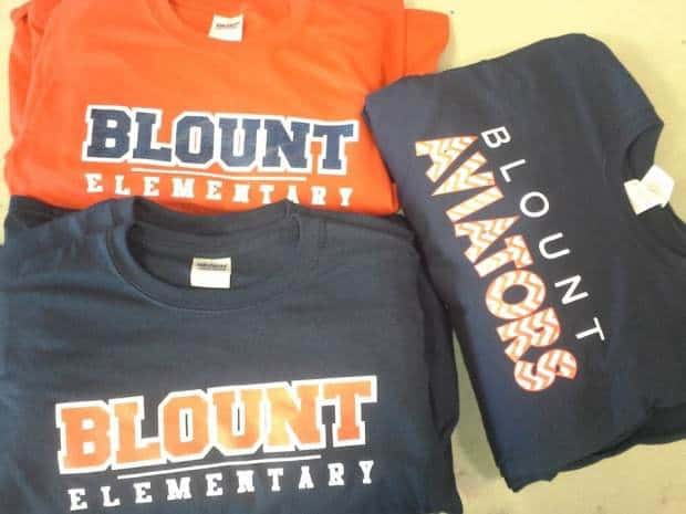 elementary school t shirts