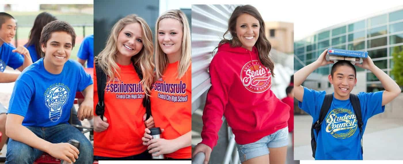 custom high school t shirts