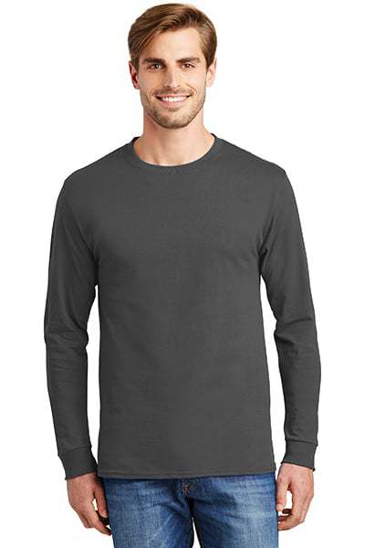 hanes long sleeve t shirts