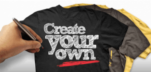 design your own t shirt hub92prints
