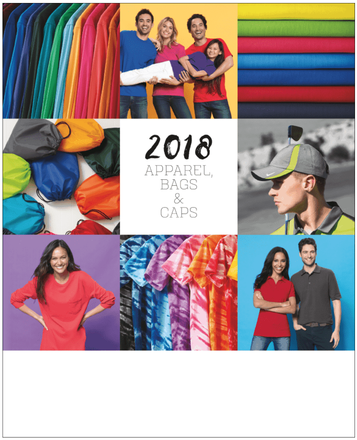 custom apparel catalog