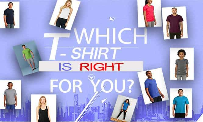 best t shirts for your project