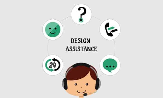 Customer service design assistance hub92prints