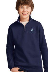 beds 1/4 zip hoodie