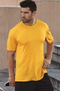 gildan 4600 100 polyester tshirt