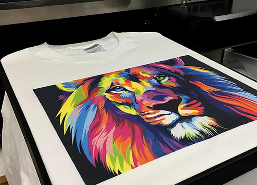 direct to garment printed shirts