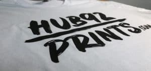 water based screen printing