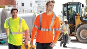 construction t shirts
